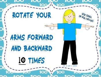 100 Days of School: 10 X 10 Instant Activity