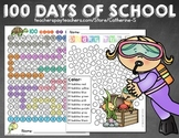 100th Day of School Coloring Pages