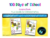 100 Days of School Adapted Book