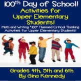 100 Days of School Interactive Notebook!  Upper Elementary