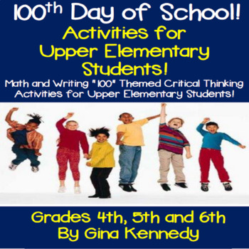 100 Days of School Interactive Notebook!  Upper Elementary