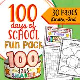 100 Days of School Activities MEGA BUNDLE with Hat Handwri