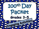 100 Days of School Activities for Grades 3-5
