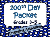 100 Days of School Activities for Grades 3-5