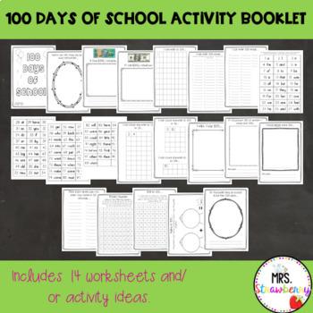 100 Days of School Activity Booklet