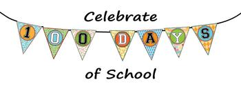 100 Days Of School Banner By Amy Lalla Teachers Pay Teachers