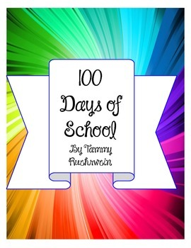 100 Days of School Book