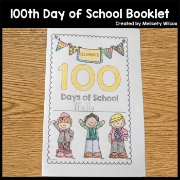 100th Day of School Activities Mini Booklet