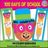 100 Days of School Bookmarks