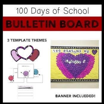 100 Days of School Bulletin Board