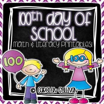 100 Days of School Bundle Pack!