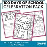 100 Days of School Celebration Pack - ELA, Math, Science