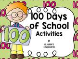 100 Days of School Centers