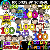 100 Days of School Clipart {Scrappin Doodles Clipart}