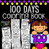 100 Days of School Coloring Book {Made by Creative Clips Clipart}