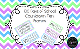 100 Days of School / 100th Day Countdown Ten Frames