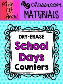 School Days Counters