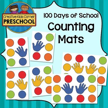 100 Days of School Counting Mats