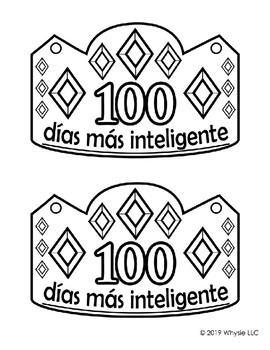 100 Days of School Crown - Spanish