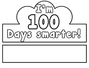 100 Days of School Crown in English & Spanish