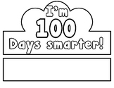 100 Days of School Crown in English & Spanish-Editable