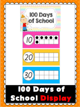100 Days of School Display