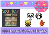 100 Days of School Display