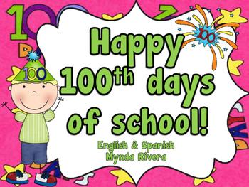 100 Days of School (English & Spanish)