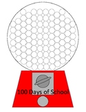 100 Days of School Gumball Machine