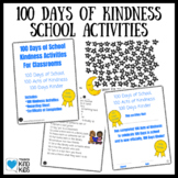 100 Days of School Kindness Activities for SEL Curriculum