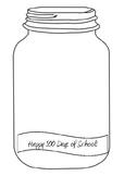 100 Days of School Lolly Jar