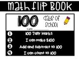 100 Days of School Math Flip Book