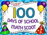 100 Days of School Math Scoot