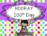 100 Days of School Math, ELA, and CRAFT Fun!!!!!!