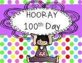 100 Days of School Math, ELA, and CRAFT Fun!!!!!!