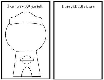 100 Days of School Mini Activity Booklet {Freebie}