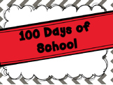 100 Days of School Mini Unit