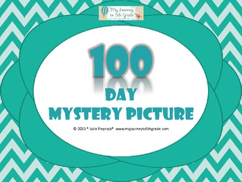 100 Days of School Mystery Picture