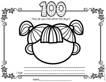 100 Days of School No PREP!