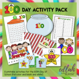 100 Days of School Pack