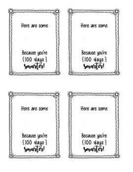 picture relating to 100 Days Printable identify 100 Times of College or university Printable