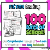 100 Days of School Reading Comprehension Passage and Quest