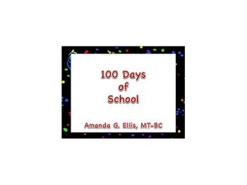 100 Days of School Song