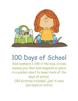 100 Days of School Squares