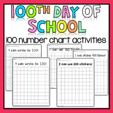 100th Day of School - Stamp, Write, Dot, Stickers