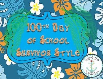 100 Days of School Survivor Style