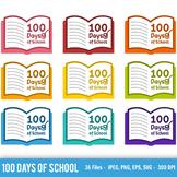 100 Days of School Svg, 100 Days of School Vector, 100 Day