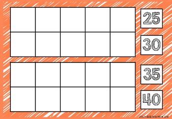 100 Days of School Ten Frame Calendar