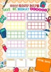 100 Days of School Ten Frame Trading Maths Chart Morning Routine