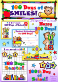100 Days of Smiles Clip Art & Printables